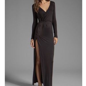 Novella Royale Siren Maxi dress in blk, worn once